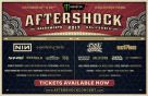 MONSTER MUSIC AFTERSHOCK FESTIVAL ANNOUNCED