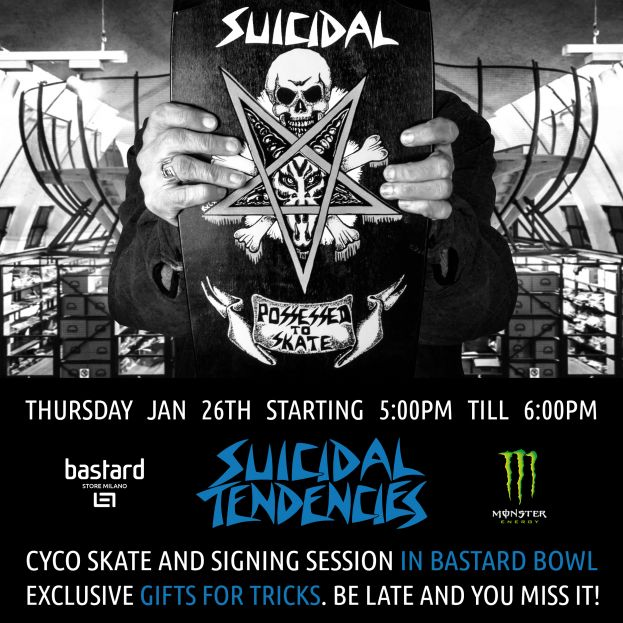 PERSISTENCE TOUR - SPECIAL EVENTS SIGNING SESSIONS!
