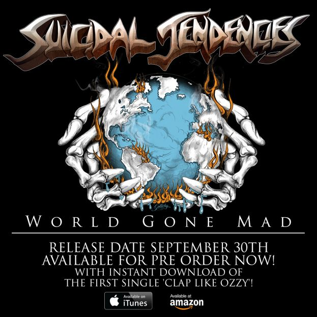 'WORLD GONE MAD' NEW SONG SNIPPET AND HEADLINING SHOWS ANNOUNCED!