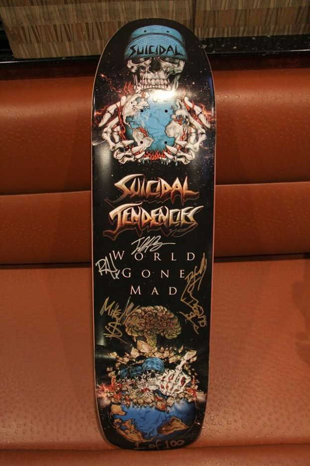 LIMITED EDITION WORLD GONE MAD SIGNED POOL DECK ON SALE TOMORROW MORNING!