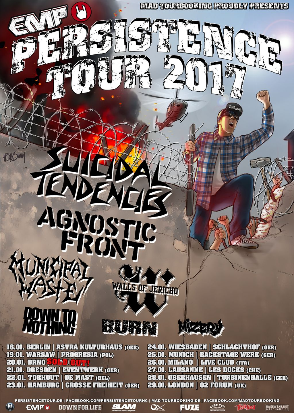 PERSITENCE TOUR IN EU IS HERE!