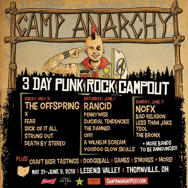 CAMP ANARCHY FESTIVAL ANNOUNCED!