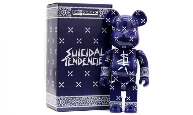 Bearbrick x Suicidal Tendencies