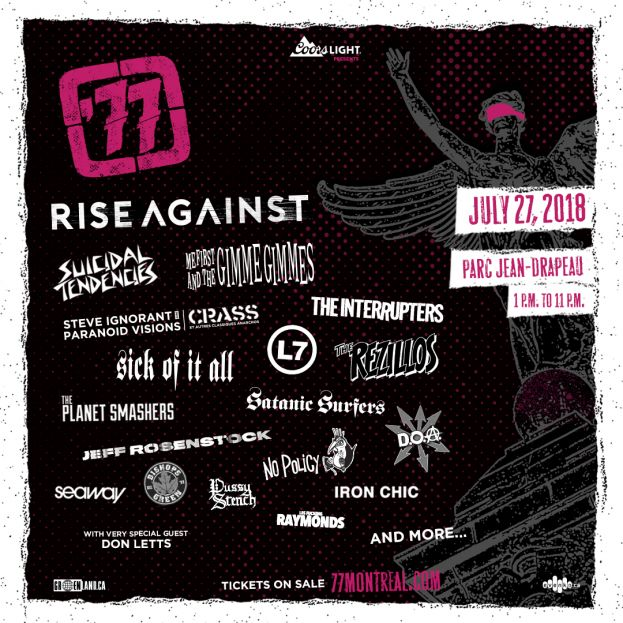 77 MOTREAL FESTIVAL JUST ANNOUNCED!