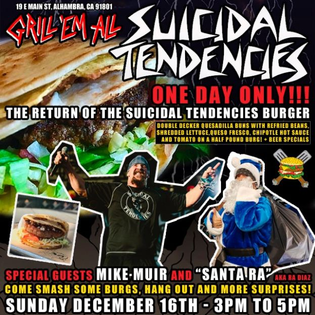 THIS SUNDAY MEET MIKE MUIR AND CYCO SANTA!