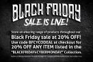 BLACK FRIDAY SALE IS LIVE!