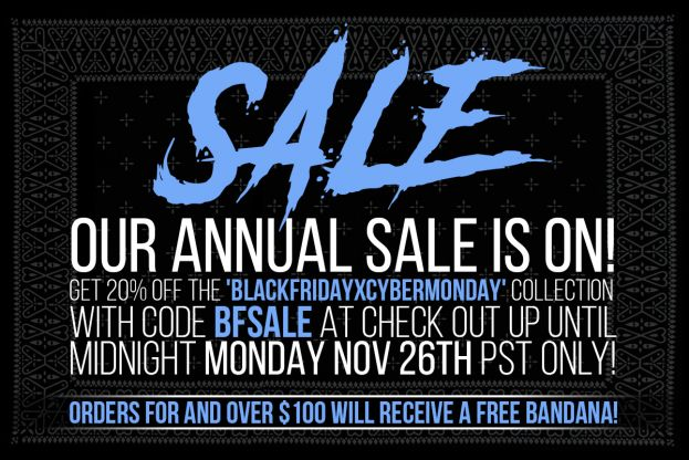 OUR ANNUAL SALE IS ON!