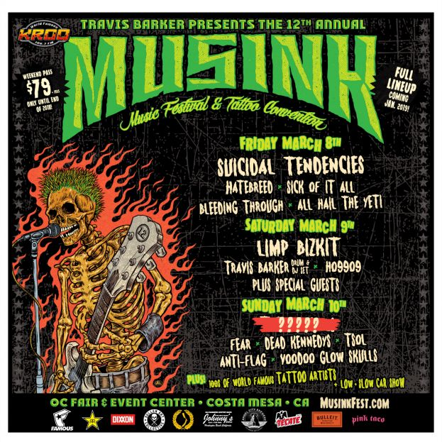MUSINK FEST JUST ANNOUNCED!